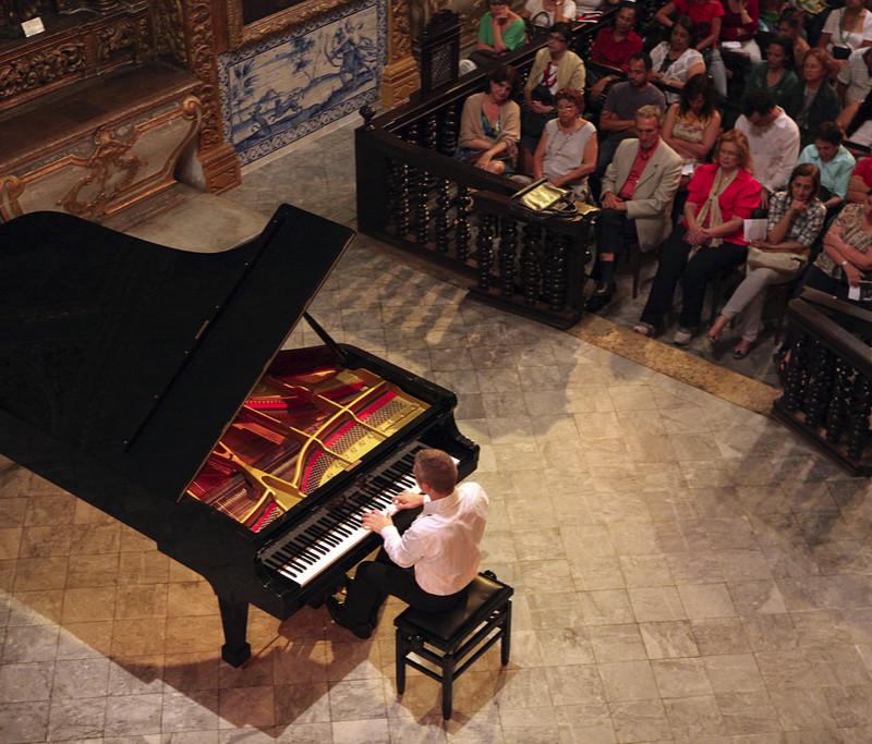 DANIEL GORTLER. BRAZIL. MIMO 2011, Concert in Capela Dourada