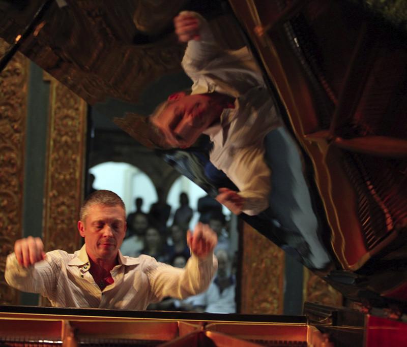 DANIEL GORTLER. BRAZIL. MIMO 2011, Concert in Capela Dourada.